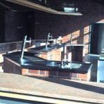 Theke in der Haupthalle