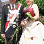 Werl Schützenfest Büderich Königspaar Petra und Thomas Keyen
