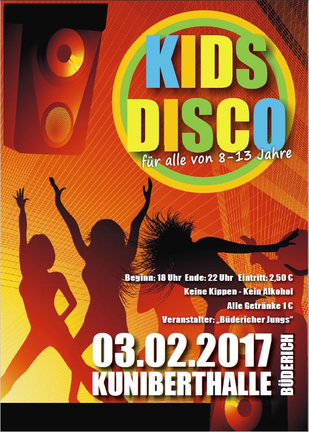 KidsDisco Büderich 2017