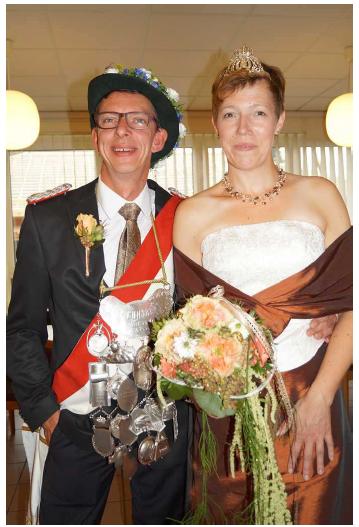 Schützenkönigspaar 2017 - Peter und Steffi Schmidt