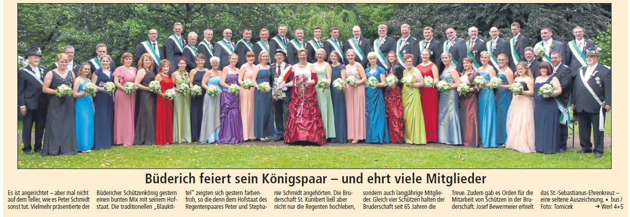 Soester Anzeiger 03.07.2017 - Hofstaat 2017
